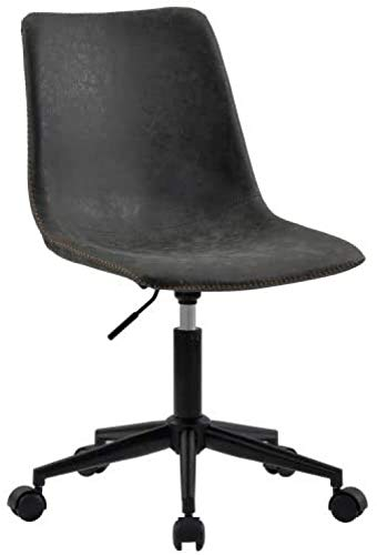 Office Chair Ergonomic Computer Task Desk Chair Without Arms Swivel Chair Home Office Bedroom
