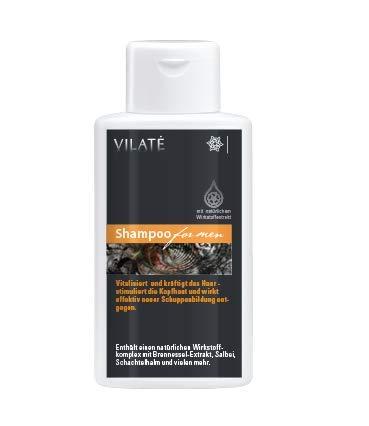 Vilaté for men Shampoo für kräftiges - gesundes Haar. Maskulin · Überzeugend · Perfekt - Sehr ergiebig!