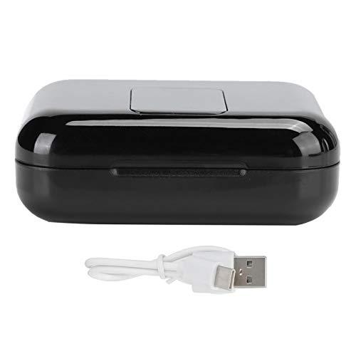 Pelnotac Auricular inalámbrico Bluetooth táctil, pantalla digital 5.0 LED Tipo-C mitad en la oreja HIFI