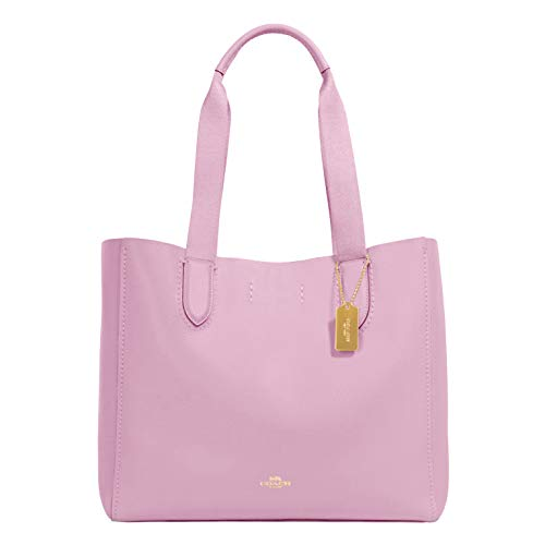 Coach Pebble Leather Derby Tote (Blossom Wine)