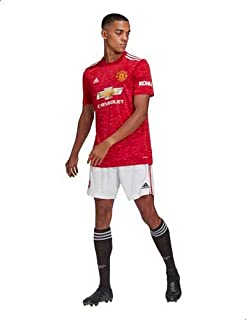 adidas 20/21 MUFC Home Short - White, X-Large