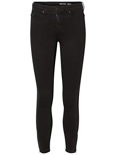 Noisy may Female Skinny Fit Jeans NMKIMMY Cropped Normal Waist 3032Black