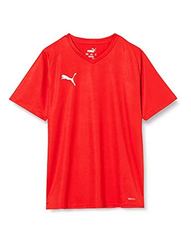 PUMA Liga Jersey Core Jr, Maglia Calcio Unisex Bambini, Rosso Red White, 152