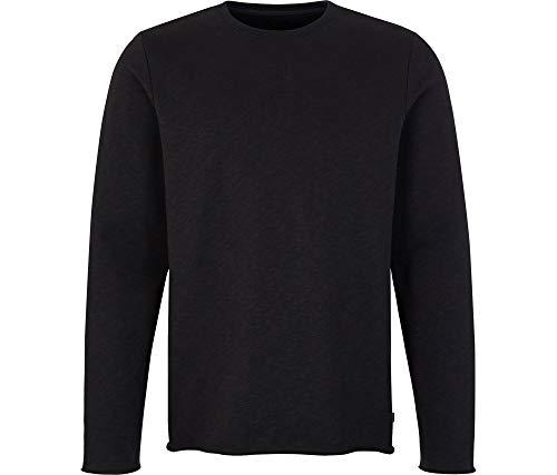 FORVERT Sweatshirt DELTANA, Black, S - Herren