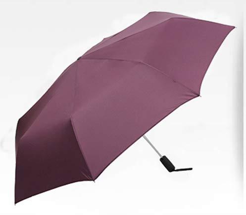 NJSDDB paraplu 125cm Grote Golf Paraplu's Mannen Winddicht Grote reclame Zon Drijvende Vrouwelijke mannelijke bedrijf Paraplu Regen Vrouw Outdoor Parasol, Paars