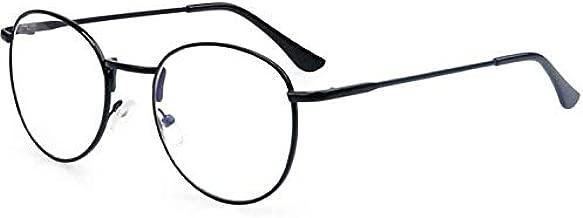 Retro sunglasses Unisex metal round Flat light eyewear