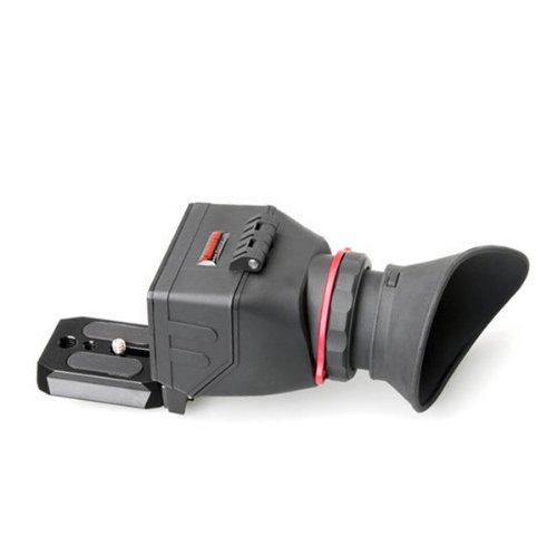 Kamerar QV-1 LCD Sucherlupe (magnetischer Wechselplatte, geeignet für 7,6 bis 8,13 cm (3 bis 3,2 Zoll)) schwarz