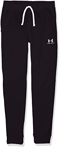 Under Armour - Fitness-Hosen für Jungen in Schwarz, Größe L