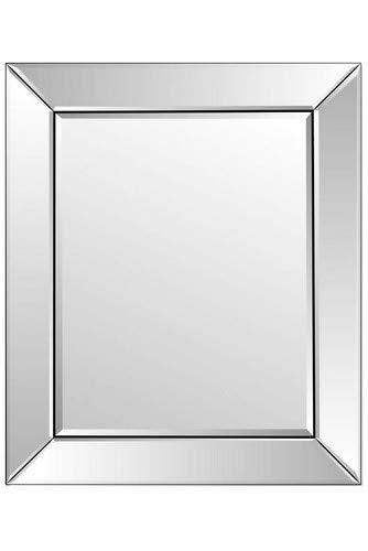 Badkamer Enkele Rand Venetiaanse afgeschuinde muur spiegel 2ft3 x 1ft11