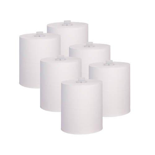 6 Papierrollen für Sensorspender Cosmos, 140 m x 20 cm - Handtuchrollen Papierhandtuchrollen