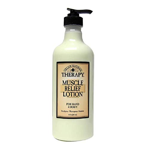 Village Naturals Therapy Muscle Relief Natural Lotion 16 fl oz (2-Pack) Village Naturals