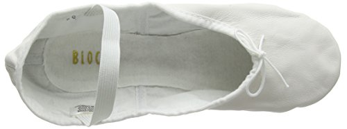 Bloch Damen Arise Tanzschuhe-Ballett, Weiß (White), 35 EU (2 C UK) - 7