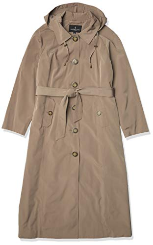 LONDON FOG Damen-Trenchcoat, lang, einreihig - Beige - 44