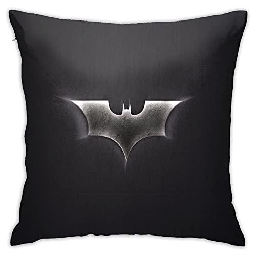 Pourquoi So Serious Joker Batman Housse de coussin 45 x 45 cm en coton et lin Décoration créative Taie d'oreiller pour salon, jardin, canapé