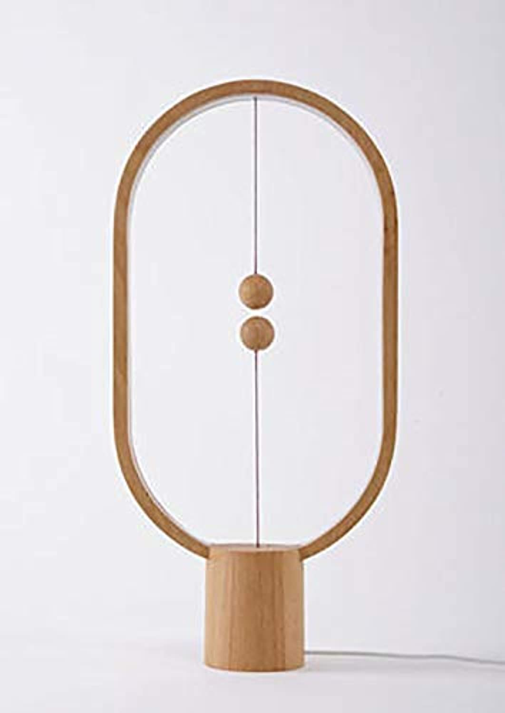 ZLYJ Heng Balance Balance Balance Lamp Dark Wood – Lampe LED Design ...