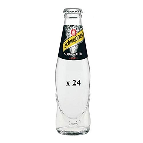 SCHWEPPES SODA WATER 0,180 ML 24PZ