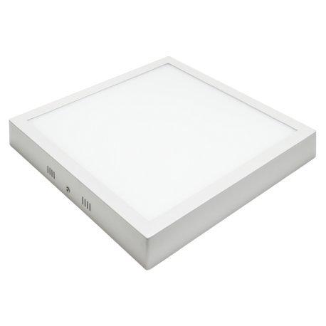 Alverlamp DL30PL60SC - Downlight LED, 30W, 6000K, superficie cuadrado blanco, chip Led Osram