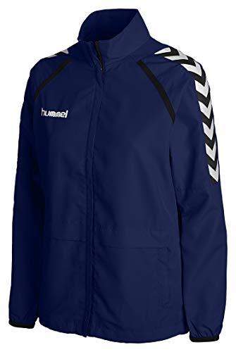 Hummel Damen Stay Authentic W Micro Jacket Trainingsjacke, MARINE, XS EU