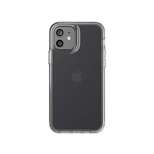 tech21 Evo Clear per Apple iPhone 12 e 12 Pro 5G - Custodia antimicrobica contro i germi con protezione dalle cadute da 3,7 m T21-8379