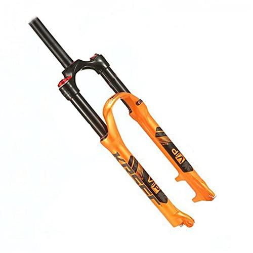 Horquilla de suspensión Bicicleta de montaña Tenedor de gas 26 pulgadas 27.5 pulgadas 29 pulgadas Bicicleta Bicicleta Frente Tenedor Control de hombro Bloqueo Negro Tubo Interior de Choque Frente Tene
