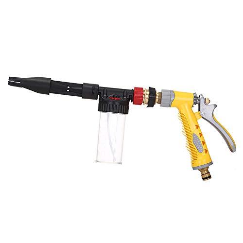 KKmoon Pistola de Espuma para Lavar Coches,Lanza Multifuncional de Espuma Limpieza de Coches de Alta presion