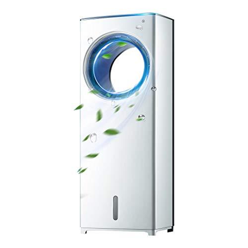 GYF Aire Acondicionado Portátil,3 En 1 Ventilador Enfriador Evaporativo Compact Climatizador Portátil para Hogar Oficina Blanco 26X22X73CM (Color : White, Size : B)