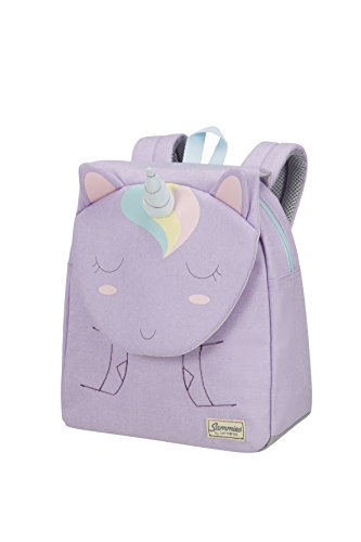 Samsonite Happy Sammies Zainetto per Bambini S, 28 cm, 7.5 L, Viola (Unicorn Lily)