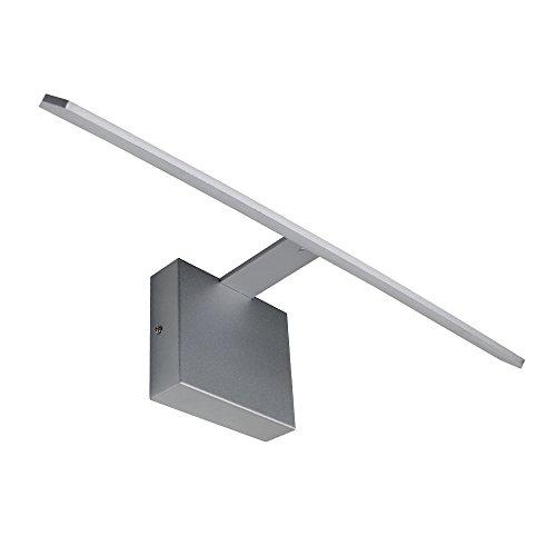 """VONN VMW11400AL Modern LED Bathroom Vanity Light, 21"""", Silver"""