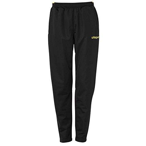 uhlsport 100515705 Pantalon Mixte Enfant, Noir/Limonenjaune, FR : XXS (Taille Fabricant : 152)