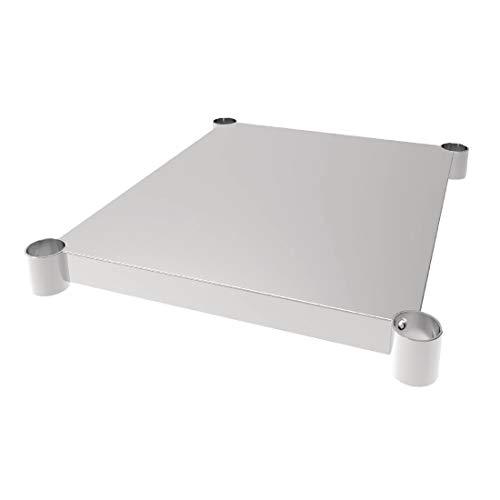 Vogue Cp835 Table étagère pour Gj500/Gj505, 700 mm de diamètre x 600 mm de largeur