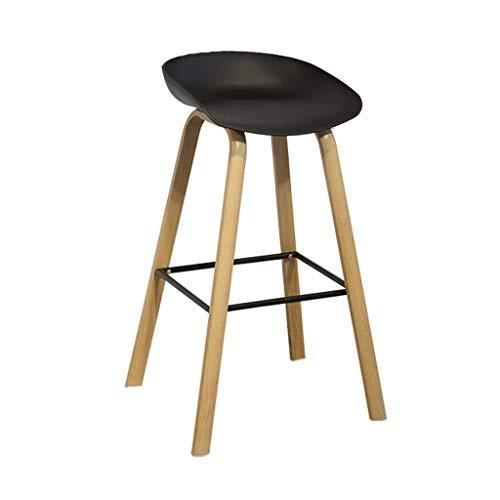 XXT stok tafel stoel en combinatie tegen de muur hoge planken strijkplank stoel bar zwart