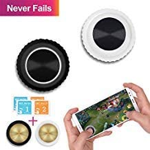 Mobile Game Joystick Button - GTOTd Mobile Game Controller,Touch Screen Joypad Game Controller for Mobile Tablet Smart Phone Joystick [2 Pair]