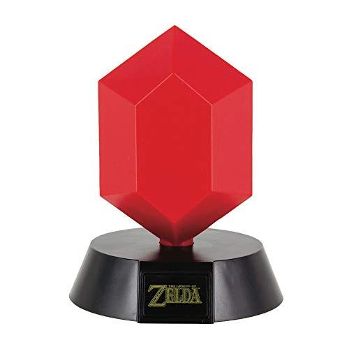 Zelda Lampe de table Red Rupee