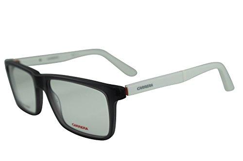 Carrera Herren CA8801 1HJ 55 Sonnenbrille, Weiß (Mtgrey White)