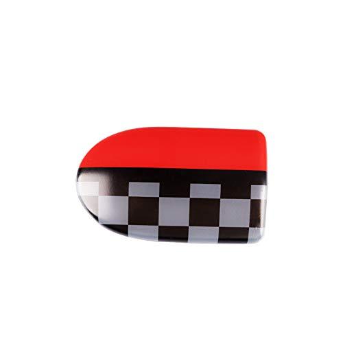 LVBAO Glove Compartment Storage Box Handle Cover Sticker Trim Cap for Mini Cooper F55 Hardtop F56 Hatchback F57 Covertible (JCW)