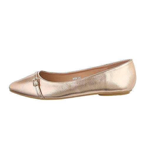 Ital-Design Damesschoenen Klassieke ballerina's