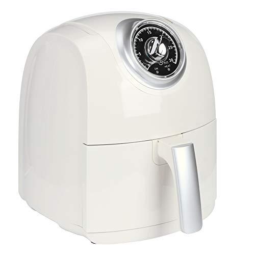 Freidora de aire, freidora sin aceite, capacidad 3,2 litros, alta temperatura 180 ℃, prueba mecánica durante 30 minutos, para asar una cocción rápida (EU 220 V)