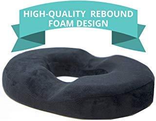 [New Design] Donut Cushion for Tailbone Pain, High-Quality Rebound Foam, Ultra Premium Quality Pain...