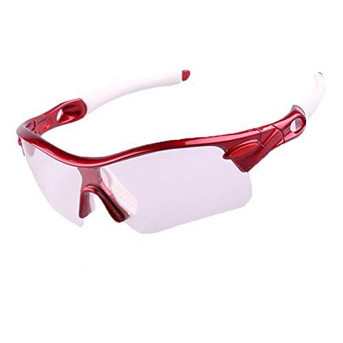 Sport-Sonnenbrille Radfahren GMädchen Sonnenbrillen Reisen Fahren Windschutzscheibe Outdoor Sports Mountainbike Brille Tennis Badminton Sport Sonnenbrillen Schutz Fahrrad Farbe und Nachtsich