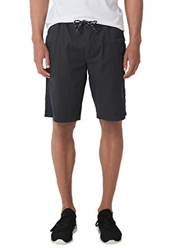 s.Oliver Herren 20.905.74.3710 Shorts, Grau (Grey/Black 9897), W(Herstellergröße: 38)
