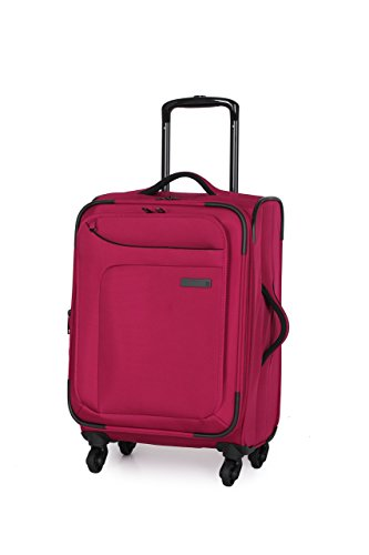 IT Luggage Mega-Lite Premium 22 Inch Carry On (Ribbon Red)