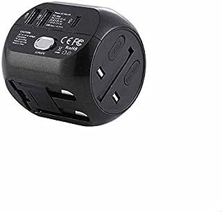 Remax RL-EP08 Life Multi-Function International Travel Adapter - Black