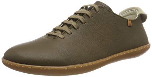 El Naturalista El Viajero, Zapatos de Cordones Derby Unisex Adulto, Verde (Olive Olive), 43 EU