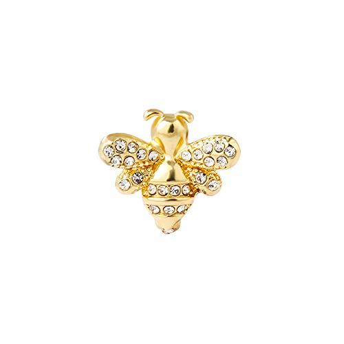 Ear bone clip European and American big brand bat bee ear clip without pierced earrings demon wings diamond earrings B