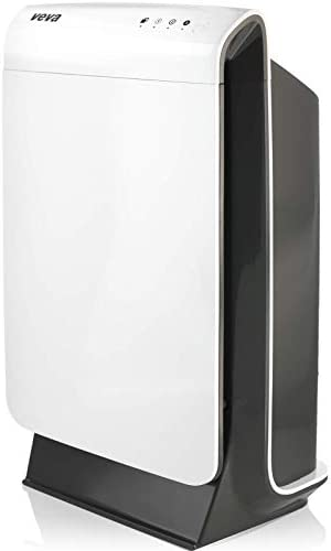 VEVA Air Purifier Large Room – ProHEPA 9000 Premium Air Purifiers for Home w/ H13 Washable HEPA Filter for Smoke, Dust, Pet Dander & Odor – White