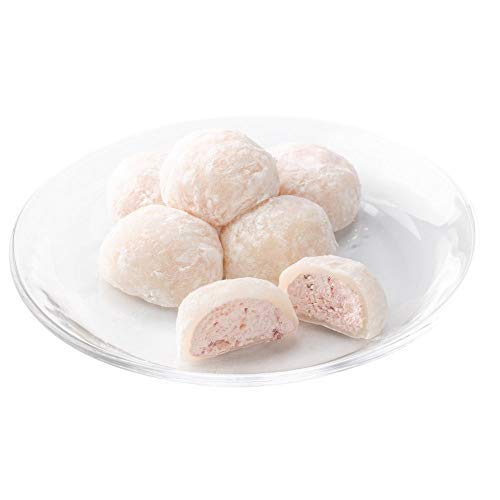 新杵堂 やわらかお餅に果肉入り苺とクリームたっぷり苺ムース大福 20個   苺ムースとお餅のハーモニー   母の日 ギフト プレゼント