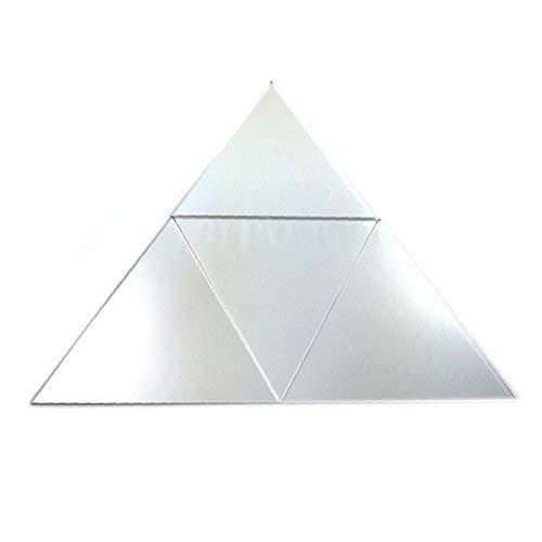 Super Cool Creations verspiegelt Triangle Mosaik Wand Fliesen–1Probe des 10cm x 10cm
