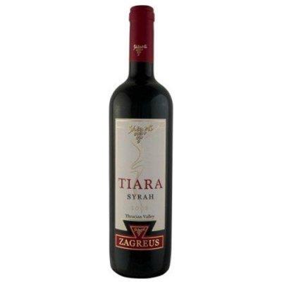 Zagreus Tiara Syrah 2017 0,75 l Thrakische Tiefebene Bulgarischer Rotwein