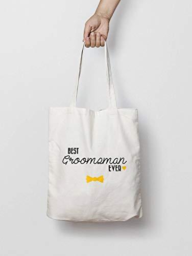 Bolso personalizado para novio y dama de honor, bolso de boda personalizable, regalo personalizable, bolsa para regalo de boda