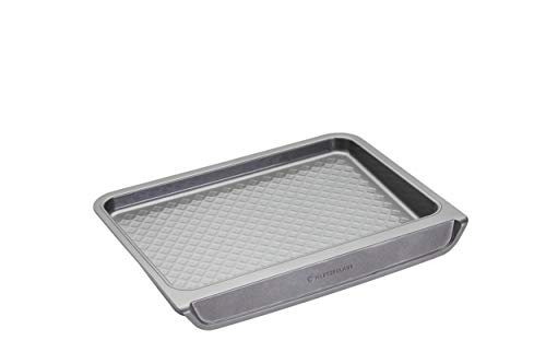 masterclass Smart Stack Vertical Stacking Baking Tray with Non Stick Finish, Carbon Steel
